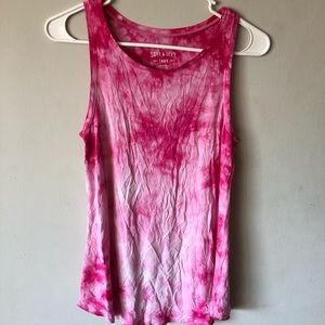 American Eagle tie dye tank top soft and sexy line
